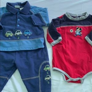 Other - 3-6 month boys outfit & onesie